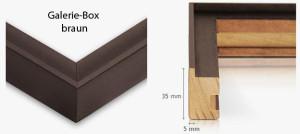 Galerie-Box braun