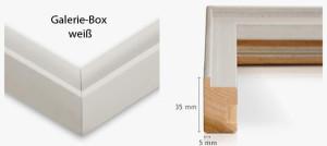 Galerie-Box weiß