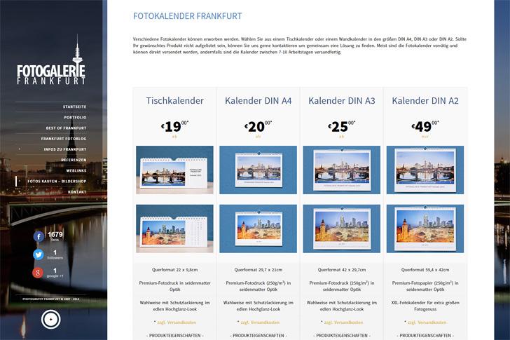 Frankfurt Fotokalender 2015