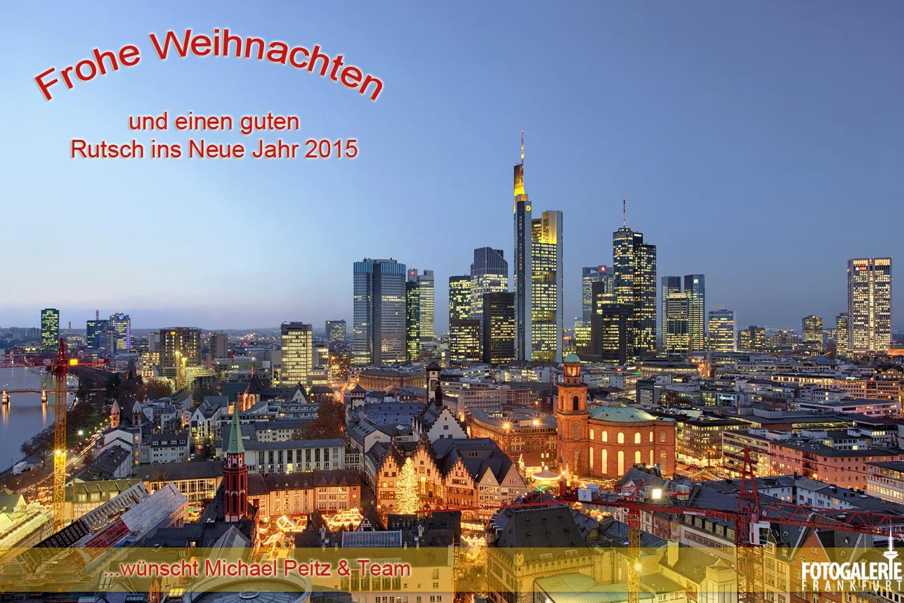 Frankfurter Weihnachtsgruß 2014
