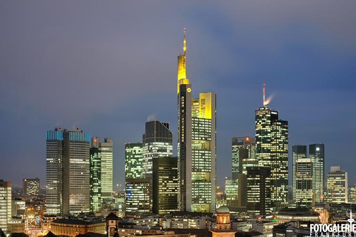 Frankfurter Innenstadt & Skyline