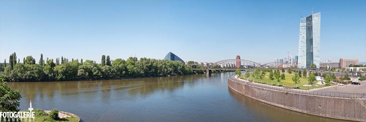 Osthafen & Skyline Frankfurt Panorama