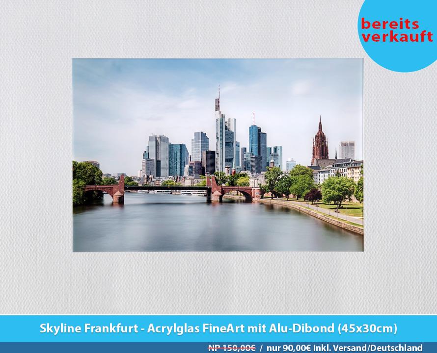 Bildershop Frankfurt - 008 Skyline Frankfurt Acrylglas