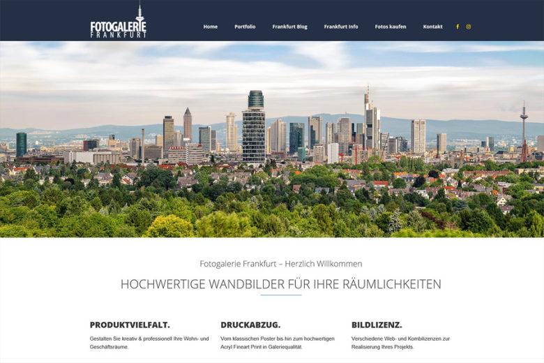 Fotogalerie Frankfurt im neuen Design