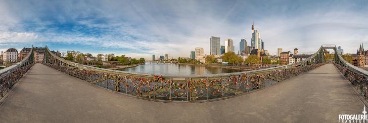 Eiserner Steg Panorama 2020